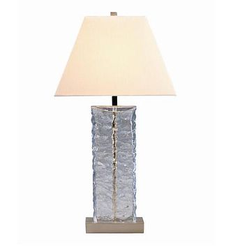 97315 - Astroia Glass Table  Lamp