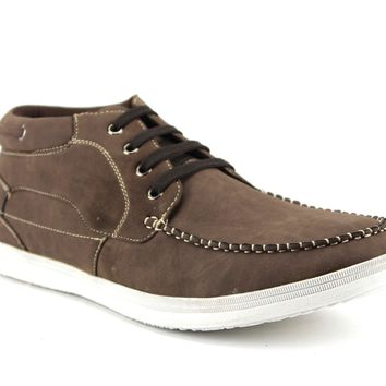 Men's Delli Aldo Low Rise Casual Sneakers Boot 502 Brown-121