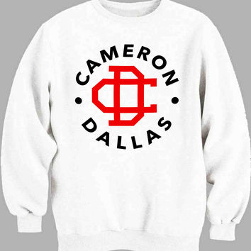 cameron dallas pocket logo Sweater for Mens Sweater and Womens Sweater *