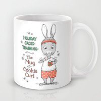 Holiday Curls Mug by Laurie A. Conley