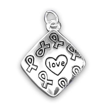 Square Love Charm for Mental Health Awareness