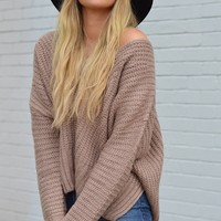 Big Sur Bonfire Chunky Knit Sweater