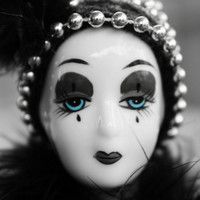 Doll Photography, Porcelain Doll Headshot, Gothic Photography