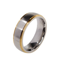 Titanium Band Mens Engagement Ring