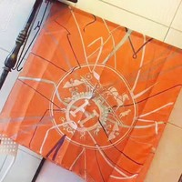 Hermes New fashion letter print scarf women