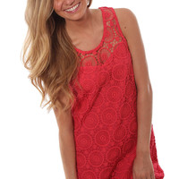 Half Of My Heart Dress - Coral