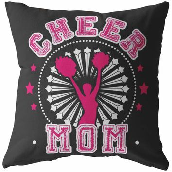 Cheerleading Pillows Cheer Mom