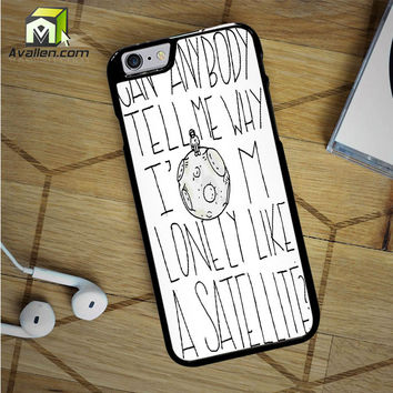 Simple Plan Astronaut Lyric iPhone 6S Case by Avallen