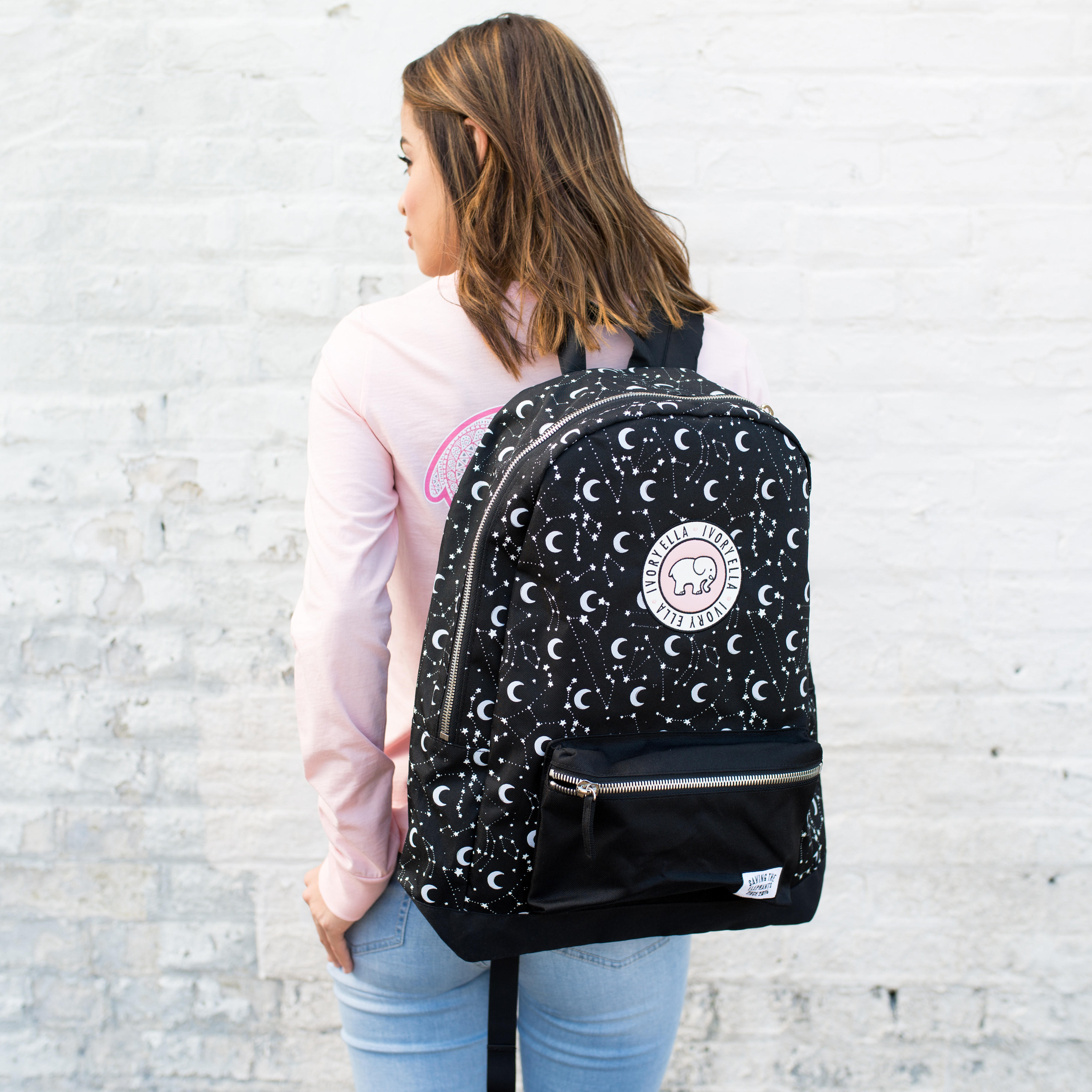 640267216b82 Moon and Stars Backpack from Ivory Ella