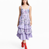 Long Tiered Dress - from H&M