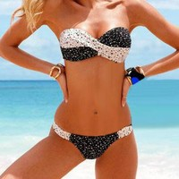 2013 new bikinis Black and white by Summershopping on Zibbet