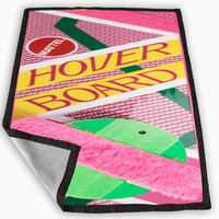 Back to the Future Hover Board Blanket for Kids Blanket, Fleece Blanket Cute and Awesome Blanket for your bedding, Blanket fleece *