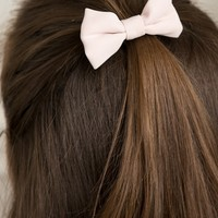 PINK RIBBON HAIR TIE