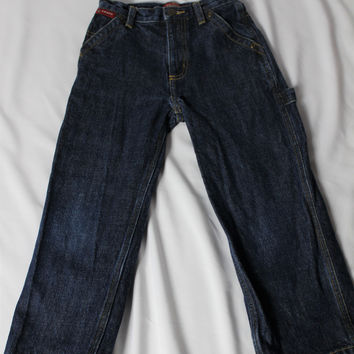 Boys Chaps Dark Denim Jeans, size 5