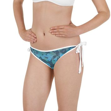 FYC Swim Reversible O.U.R. Outdoors Camo Bikini Bottom