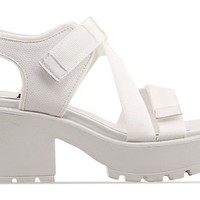 Vagabond Dioon 369 in White at Solestruck.com