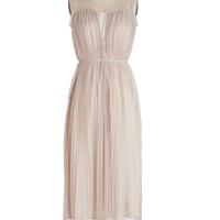 ModCloth Pastel Long Sleeveless Maxi Stunned Silence Dress