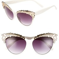 FE NY 'Luxe Life' 56mm Sunglasses