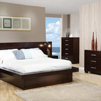 Makenna Queen Size Platform Wall Bed