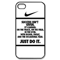 Just Do It iphone 4 4s case Tide Apple iPhone 4 4S Best Case Cover