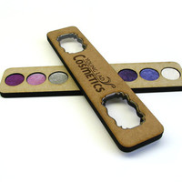 Eye Shadow Pallet - Mineral Makeup Pallet - Organic Eye Shadows - Natural Makeup - Gifts For Her - Purple Eye Shadows - D3