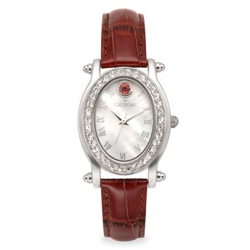 Croton Womens Stainless steel October Birthstone Watch
