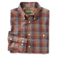 Men's Wrinkle Free Cotton Shirts / Pure Cotton Wrinkle-Free Long-sleeved Shirts -- Orvis