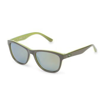 "Unisex Kids Green Multicolor ""Lacoste"" Sunglasses"