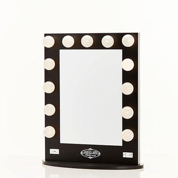 Broadway Lighted Vanity Mirror Black