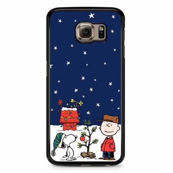 Charlie Brown Peanuts Snoopy Samsung Galaxy S6 Edge Plus Case