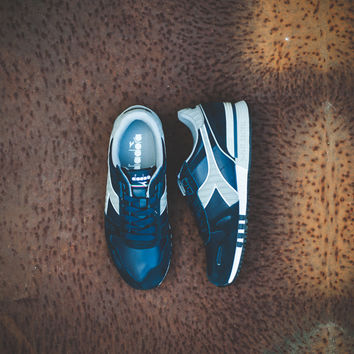 Diadora Titan Leather L/S - 'Blue Denim'