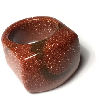 Gemstone Ring, Goldstone
