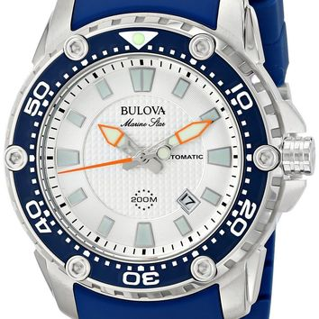 Bulova Marine Star Automatic Divers 200M 98B208 Gents' Watch