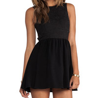 keepsake I'm His Girl Dress in Black