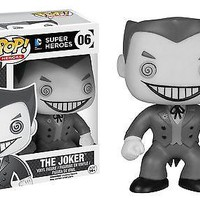 Funko Pop Heroes: Batman - Black and White Joker Exclusive Vinyl Figure