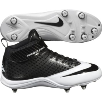 Nike Men's Super Bad Strike D Football Cleat - Black/white | DICK'S Sporting Goods