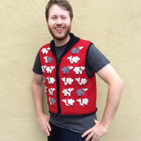 Baaaaad Sheep Tacky Ugly Christmas Sweater Vest