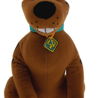 "Scooby Doo Plush Soft Cuddly Stuffed Animal Dog Toy Doll 9"" Hanna Barbera"