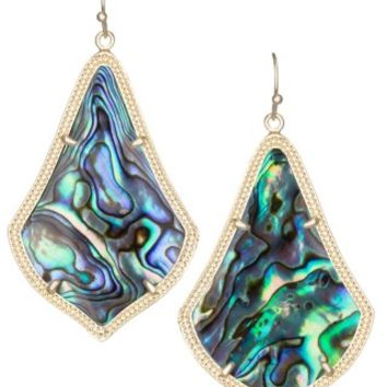 Alexandra Earrings in Abalone Shell - Kendra Scott Jewelry