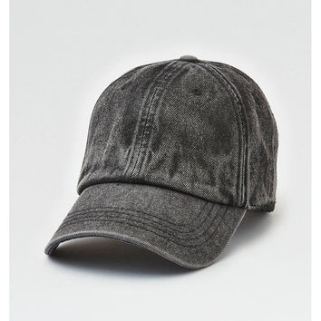 AEO Washed Out Baseball Cap, Gray