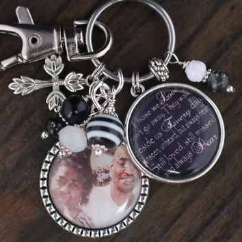 PERSONALIZED GRIEF JEWELRY, Grieving Key Chain, Memorial Jewelry, In Memory Of Key Chain, Grief Jewelry, Personalized Grief Jewelry, Grief