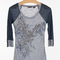 Miss Me Embellished Top - Women's Shirts/Tops | Buckle