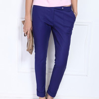 Crop Fit Skinny Pants