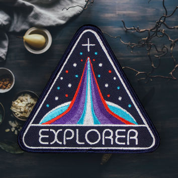 Space Explorer Patch (Free Shipping US)