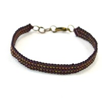 Rebecca Collection: Two Toned Slim Bracelet