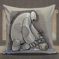 Baymax,-Baby-Groot-pillow-case,-pillow-cover,-cute-and-awesome-pillow-covers