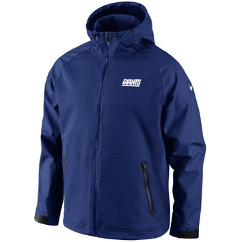 Nike New York Giants Vapor Ultimatum Full Zip Sideline Jacket - Royal Blue