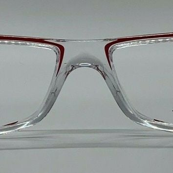 Silhouette SPX 2838 10 Crystal Red 6071 Plastic Eyeglasses Austria 54-14-135 New