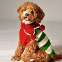 Chilly Dog Holiday Elf Dog Sweater