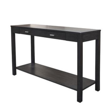 Mercer Dark Grey Acacia Wood Console Table - Free Shipping Today - Overstock.com - 19027930 - Mobile